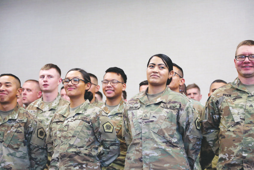 The U.S. Army Reserve 98th Signal Battalion will deploy after Thanksgiving.