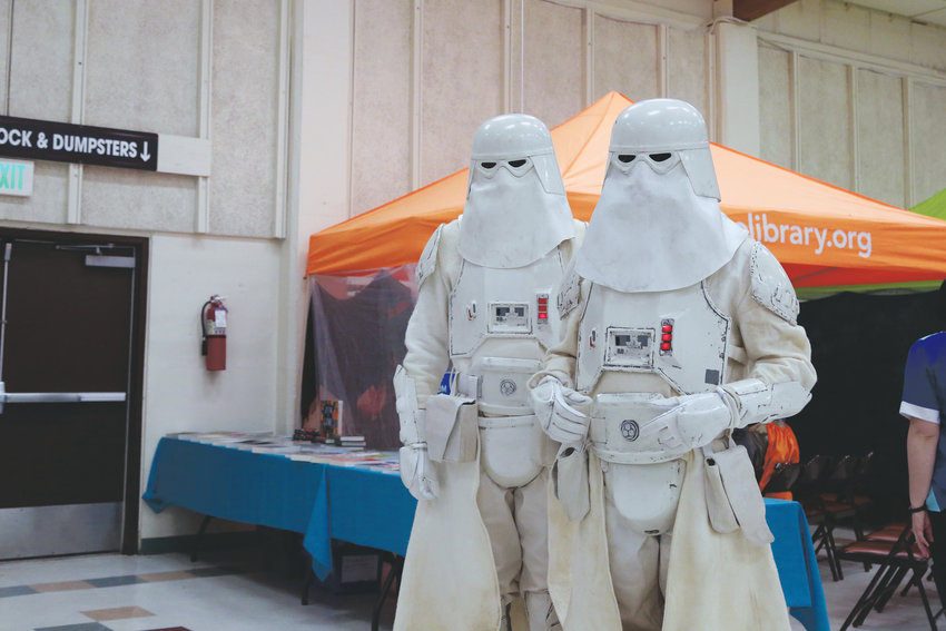 A couple Cold Assault Stormtroopers made an appearance at Fandomonium Nov. 3.