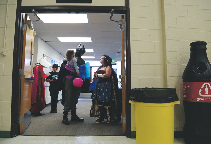 Attendees were encouraged to dress up and bring the family for pop culture fun for all.