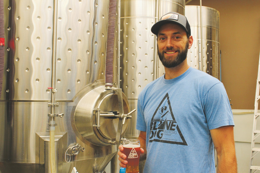 "Gardiner Hammond first opened Alpine Dog Brewing Co. in November of 2014. Hammond said he enjoys having the ""neighborhood bar"" feel at his Uptown location."