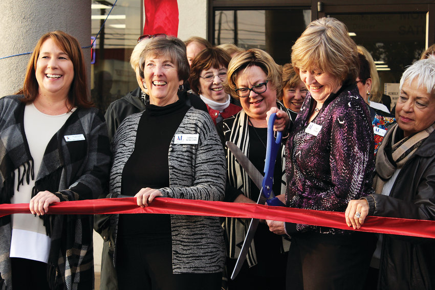 The Assistance League of Denver held a ribbon cutting for their new space at 6265 E. Evans Ave. The organization was previously off of East Colfax Avenue.