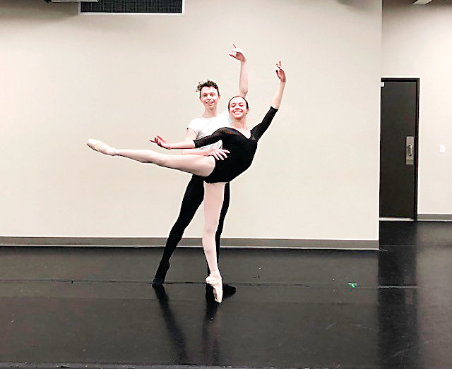 "Lauren Vogel and Tate Ryner will dance in Littleton Ballet's ""Nutcracker."""