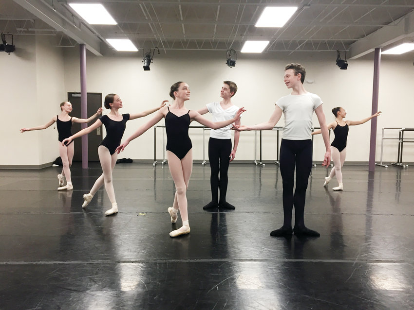 "Dancers Maggie Pontiff, Luisa Araujo,Brooke Janney, Gilbert Armstrong, Tate Ryner, Mia Iwasa will perform in Littleton Ballet Academy's production of ""The Nutcracker."" The four girls will each dance the role of Clara in a performance and the boys will alternate as the Nutcracker Prince."