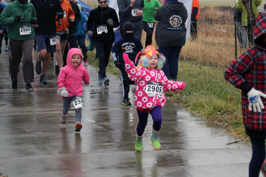 Runners of all ages got in on the action at the Turkey Trek in Arvada.