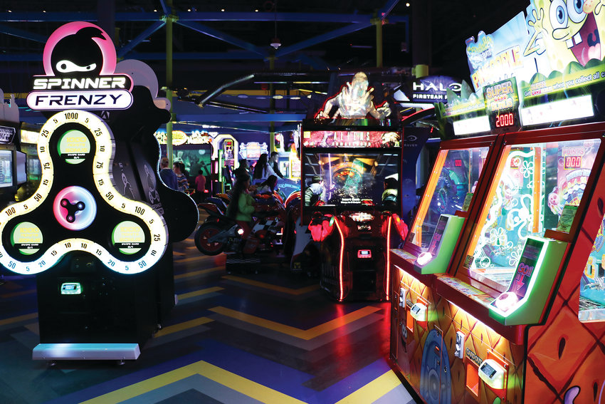 Main Event Entertainment has officially opened its doors. The game center, near AMC Highlands Ranch 24, has more than 130 arcade games.