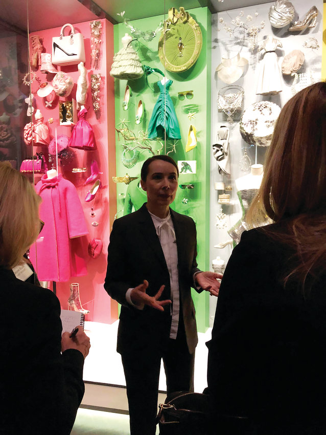 Florence Müller is the Avenir Foundation Curator of Textile Art and Fashion for the Denver Art Museum and curated the latest fashion exhibit, Dior: From Paris to the World. Here, Müller speaks to members of the media ahead of the exhibit's grand opening.