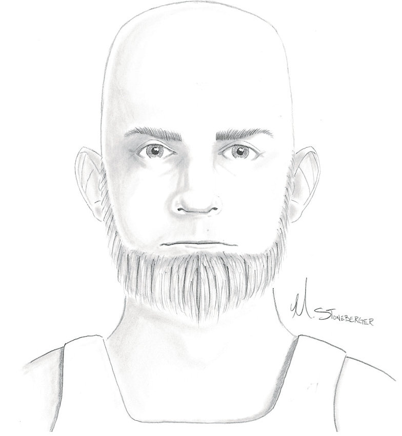 Police are seeking help in identifying this man, believed to be a bald, white man in his 50s with a salt-and-pepper beard, in a suspected attempted kidnapping case.