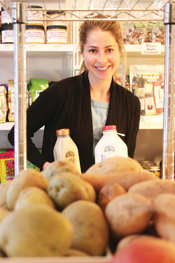 Littleton Market owner Hannah King said she started the farm-to-table store to connect farmers and consumers, and to give people a connection to their food.