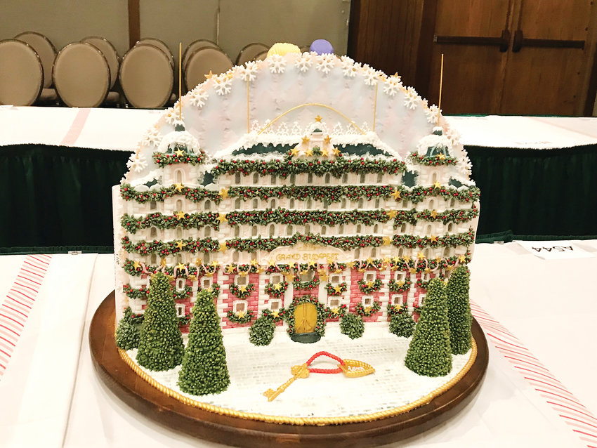 "Erie resident Carly Owens was the only contestant from Colorado who competed in the 26th annual National Gingerbread House Competition, which takes place in North Carolina. Owens' entry was inspired by the movie, ""The Grand Budapest Hotel."""