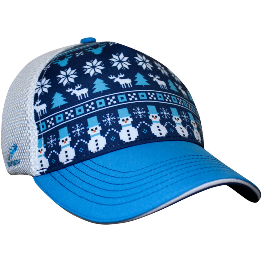 Frosty Christmas Trucker Hat by Headsweats