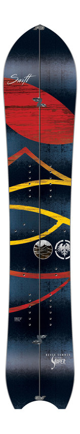 Swift Split snowboard by Never Summer