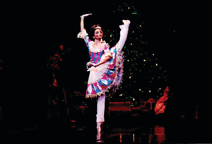 "Baker resident Fernanda Oliveira performs the roll of the Doll in ""The Nutcracker"" at the Ellie Caulkins Opera House. In addition to dancing with Colorado Ballet, Oliveira choreographs her own pieces as well."