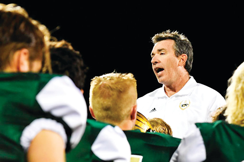 "Mountain Vista High School's varsity football coach Ric Cash has resigned after 18 years in the position. ""For me, I'm doing something that I feel is best for the program,"" he said. ""When I came to my decision at the end of last week, I had a very genuine peace in my heart about it."""