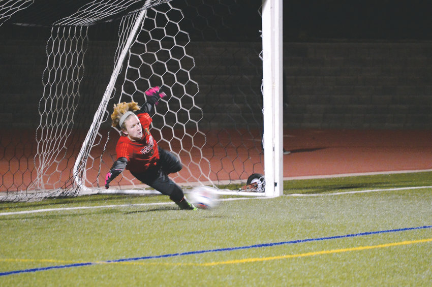 Arapahoe's Cameron Gail (7) who had 48 points this season and Warriors' goalkeeper Spencer Cobb who allowed just one goal in four playoff games were named Colorado Community Media Co-Soccer Players of the Year.