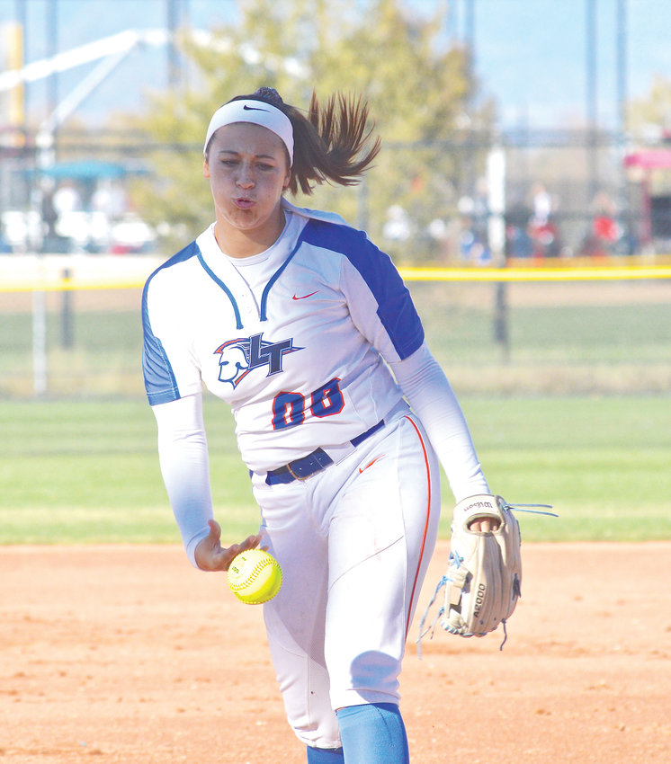 Legend's Zoey LeCompte  had 68 strikeouts and finished with a 17-4 record.