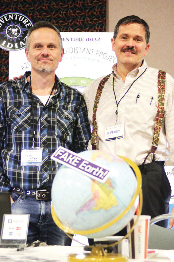 Brothers Kevin and Jeff Diaz said it's encouraging seeing the Flat Earth movement flourish. Jeff has studied Flat Earth theories for years, long before the movement exploded in 2015.