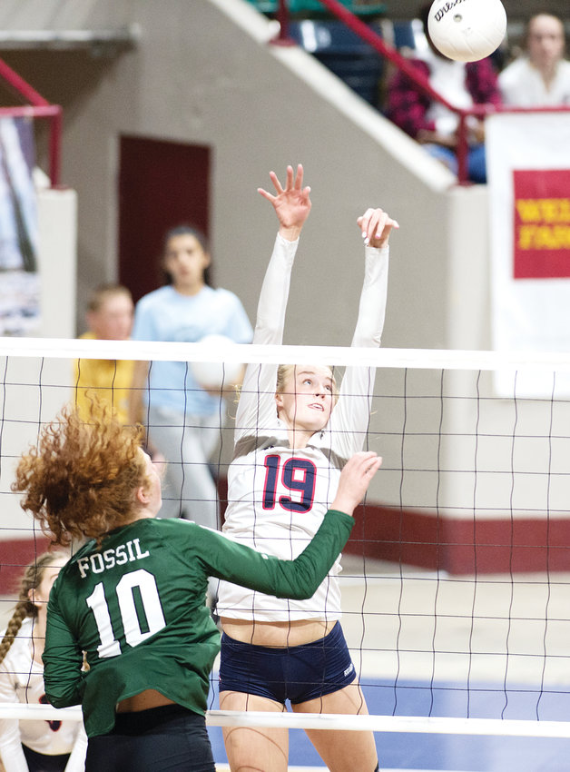 Chaparral's Julianna Dalton (19) is the co-South Metro Volleyball Player of the Year.