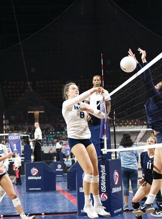 Valor Christian's Anna Davis is the co-South Metro Volleyball Player of the Year.