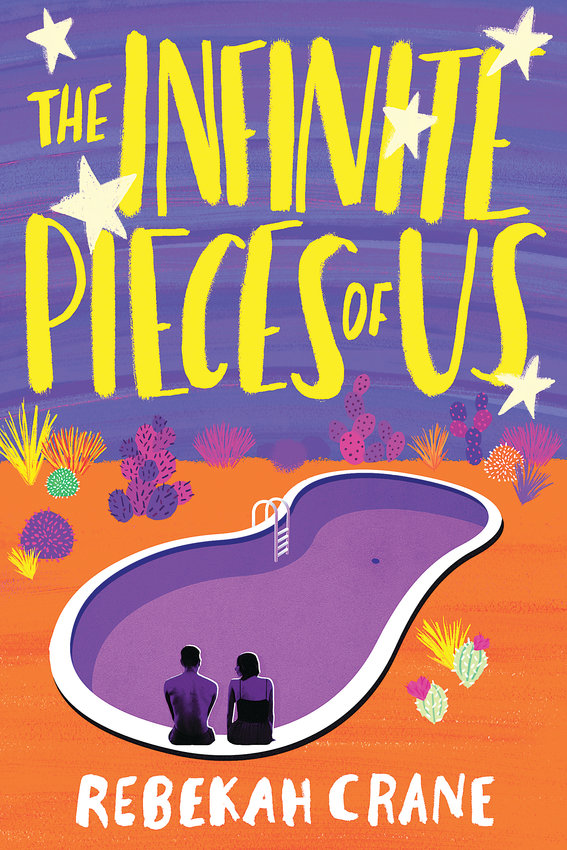 "Cover for ""The Infinite Pieces of Us,"" a new Young Adult novel by Rebekah Crane of Evergreen."