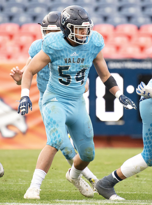 Valor Christian's Ethan Zemla registered 149 total tackles and 8.5 sacks during the 2018 campaign.