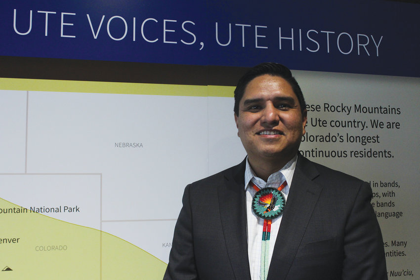 Ernest House Jr., was one of 30 consultants from the Ute tribes that helped History Colorado put together the exhibit. He said wickiups, the housing structures that the Utes built, are an example of the tribes using STEM principles.