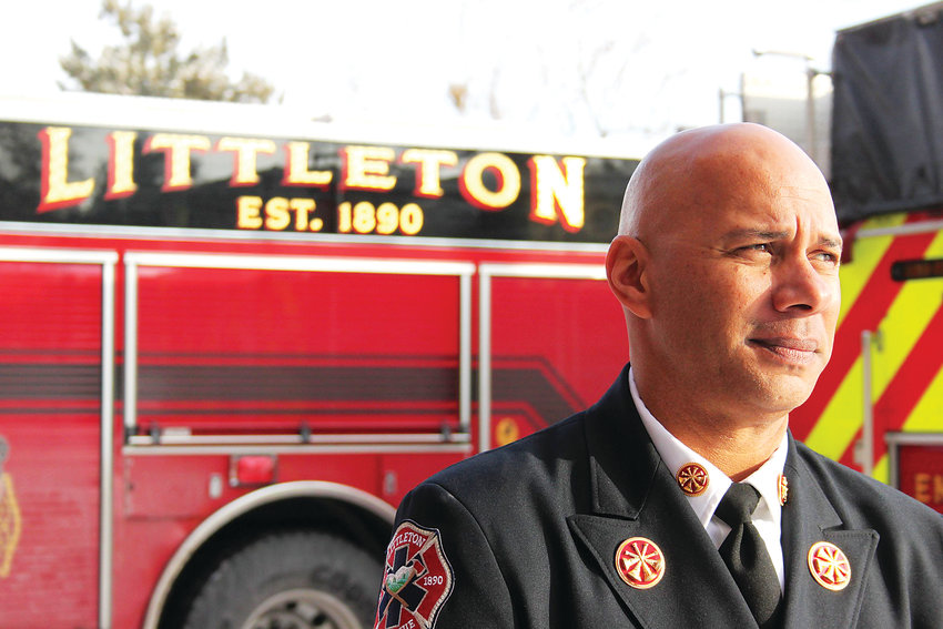 Jeff Tasker holds the honor of being the final chief in Littleton Fire Rescue's 128-year history. Tasker will become a division chief with South Metro Fire Rescue.