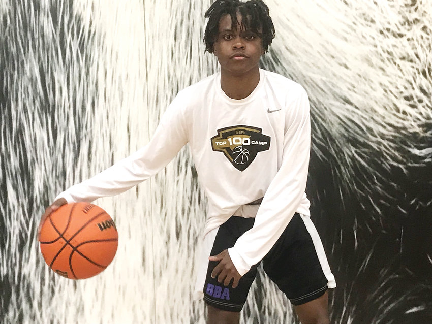 TJ Boykins, senior point guard for Douglas County High School, is a leader on the 7-4 Huskies squad.
