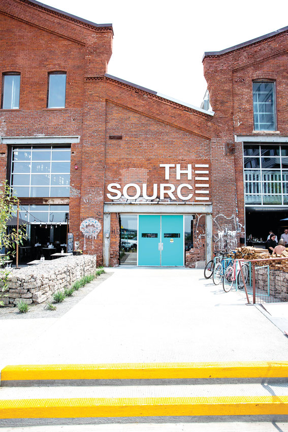 The Source is located in the RiNo Art District.