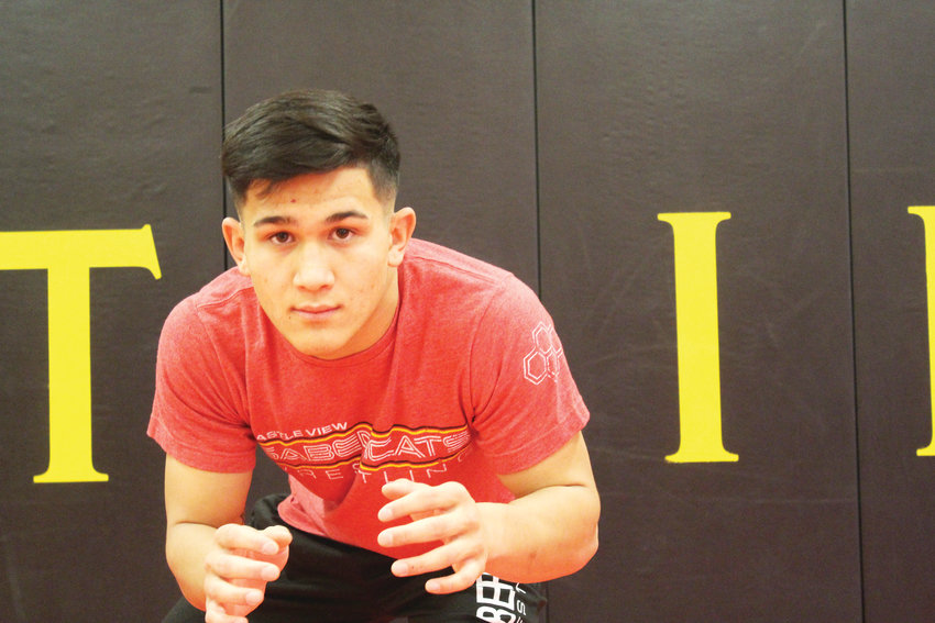 Castle View senior Adrian Marquez has set his sights on winning state this year.