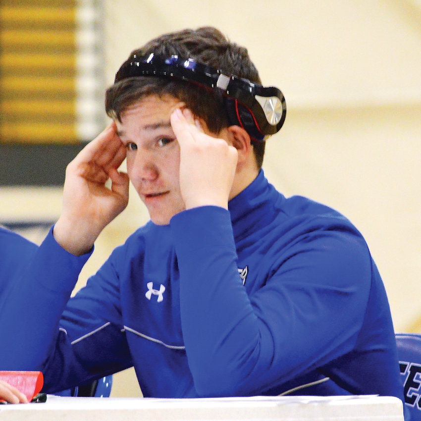 Englewood wrestler James Sharp is focused on making it to state.