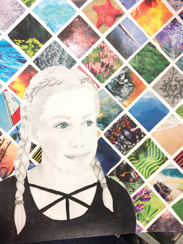 Painting by Delia Leonard of Littleton High School is included in the Littleton Public Schools K12 Student Art Show at the Colorado Gallery of the Arts at ACC through Feb. 5.