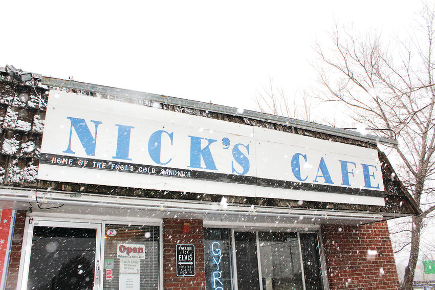 Nick's Cafe is only five minutes away from the Federal Center.
