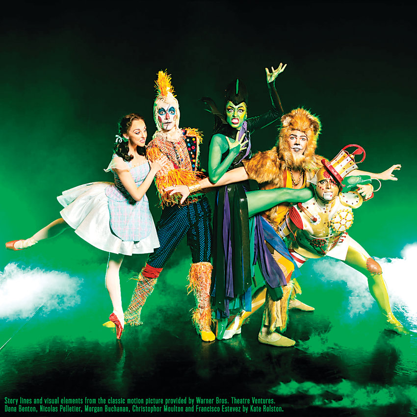 "Cast members in Colorado Ballet's ""Wizard of Oz,"" running through Feb. 10."