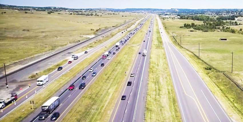 By this summer, all 18 miles of the 'Gap' will be under active construction as crews work on a number of modifications to Interstate 25 between Castle Rock and Monument. In addition to an added toll lane in each direction, the project will bring more wildlife crossings, widened shoulders and replace bridges in the area.