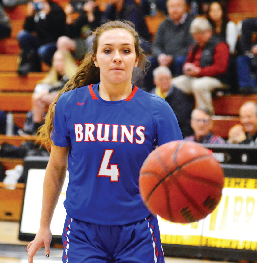Cherry Creek junior point guard Jana Van Gytenbeek.