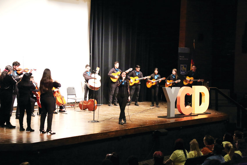 The Westminster High School mariachi band was one of many diverse performances during the opening ceremonies at this year's Cherry Creek Diversity Conference.