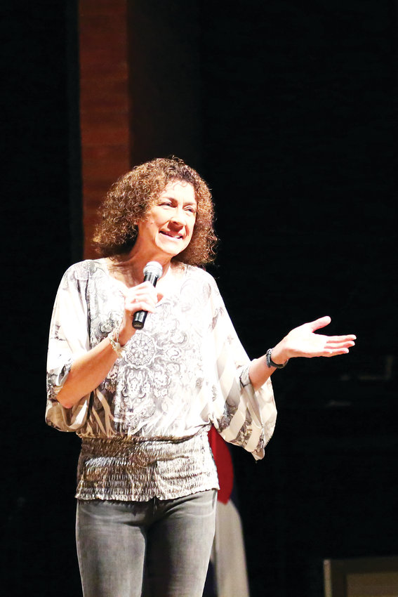 Paula Stone Williams, a transgender pastor and speaker on gender equality and LGBTQ advocacy, addressed students at the Cherry Creek Diversity Conference as the keynote speaker Feb. 2.