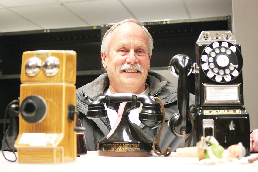 Time and temperature lines date back to the early 20th century, and reflected increasing urbanization and industrialization, said Jim Hebbeln, a volunteer with the Telecommunication History Group.