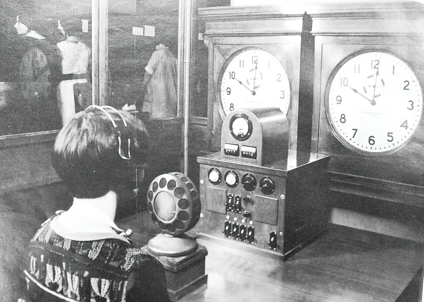 The earliest time and temperature lines required an operator to stare at a clock and read off every minute of every day over a phone line.