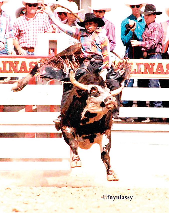 Thornton resident Charlie Sampson will be inducted into the Bull Riding Hall of Fame this May.