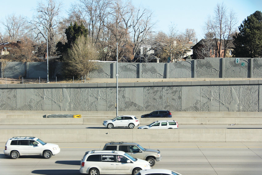Before the Transportation Expansion Project added more lanes to Interstate 25, residents were asked if they wanted to add a sound wall. One side of the highway voted yes, the other voted no, which has caused a noise buildup on the southern side of the interstate.