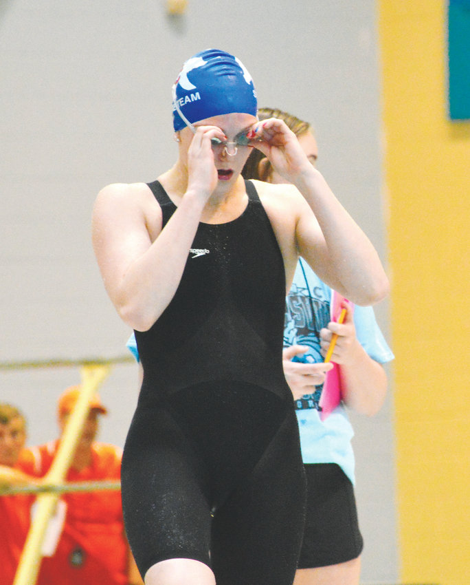 Cherry Creek's Jenna Smith was second in the 200 IM and eighth in the 100 butterfly finals on Feb. 9 at the CHSAA Girls State Swimming and Diving Championships at the VMAC in Thornton.