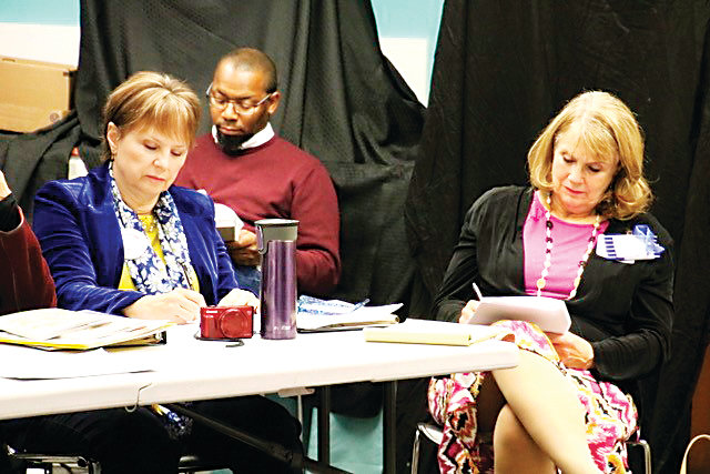"From left, Susan Rocco-McKeel, Curtis Pierce and Alice Aldridge-Dennis take part in the Poetry Track at the Castle Rock Writers Conference ""Writing-in-Progress"" in 2017. The organization has its roots in Castle Rock, but it attracts writers from all over the Front Range, according to the group."