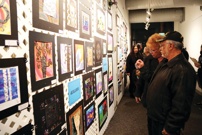 Artwork from Jeffco schools elementary students is on display at Red Rocks Community College until March 14.