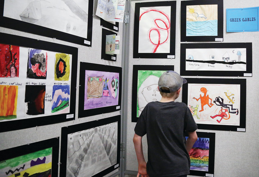 The Feb. 22 opening reception of the 2019 Elementary Jeffco Schools Foundation Art Exhibit was held at Red Rocks Community College.