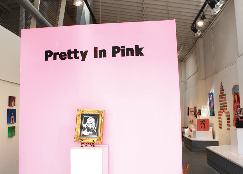 "The ""Pretty in Pink"" art exhibit is dedicated to Casa Bonita."