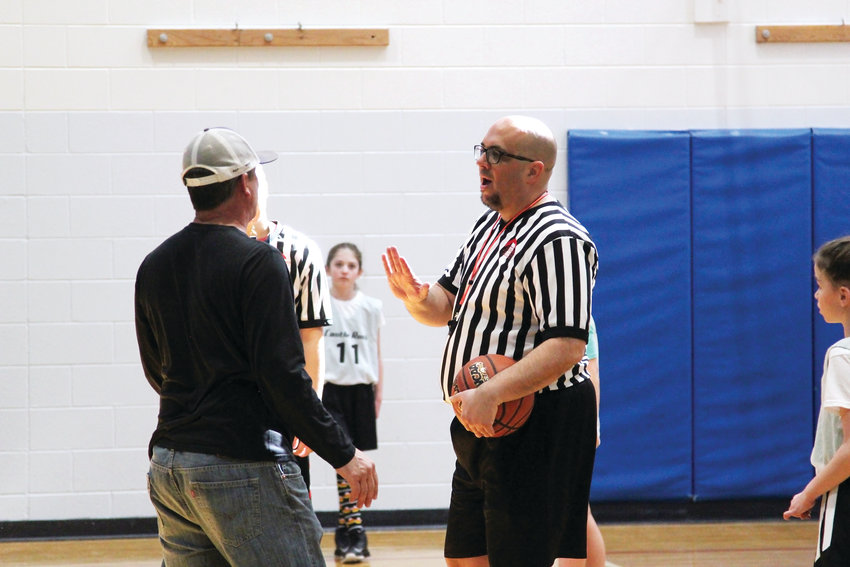 Athletic superviser Scott Smeeton of the Castle Rock Recreation Center said officials in the basketball league have some of the hardest jobs because of their close quarters with coaches and fans on the basketball court, who occasionally become upset with their calls. He admires their professionalism in handling each situation, he said.