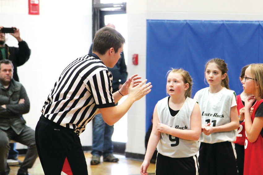 Officials in the Castle Rock Recreation Center's basketball league, which runs for kids in the 1st through 8th grades, said they see the job as a chance to mentor and teach players.