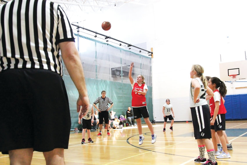 The Castle Rock Recreation Center's basketball league relies on a combination of employees and volunteers to officiate or coach in the league.