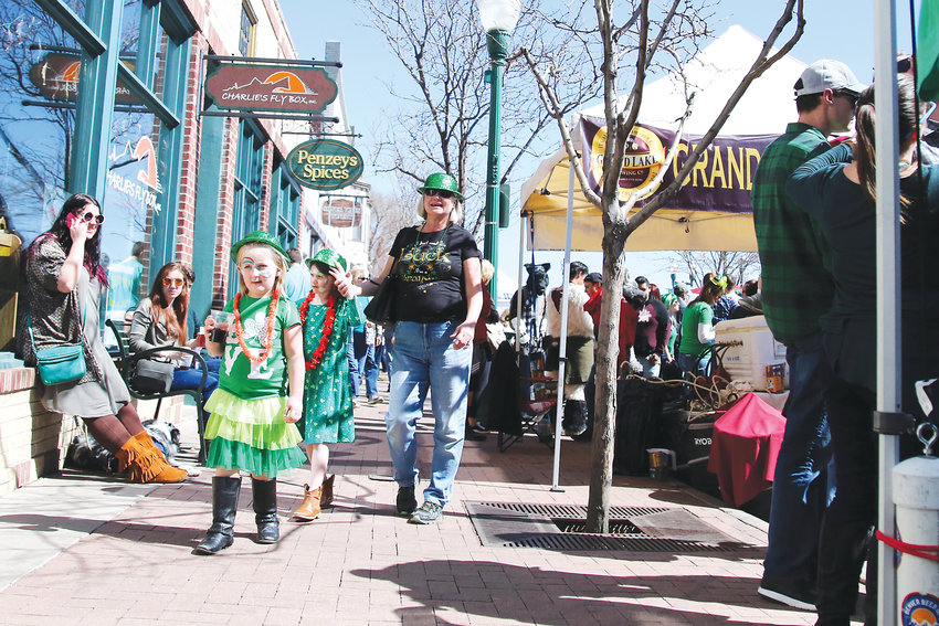 Olde Town Arvada is filled with people of all ages showing Irish spirit during its annual celebration.